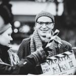 Elokuva Ollaan vapaita making of näyttelijä Riku Nieminen
