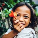 Portrait of indonesian girl