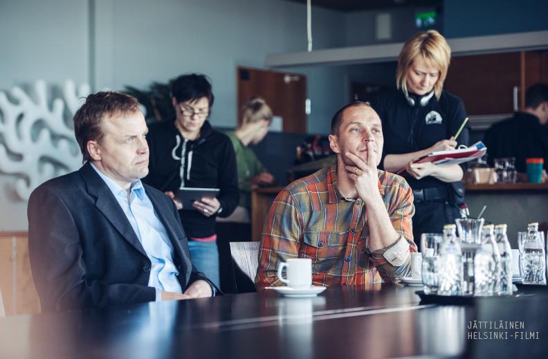 Elokuva Aleksi Salmenperä Jani Volanen Jättiläinen