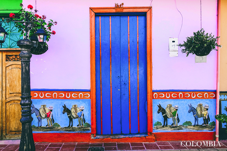 Kolumbia Guatape